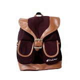 PULCHER Fox [K-01] - Maroon - Backpack Wanita